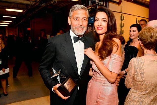 11. George ve Amal Clooney arasındaki yaş farkı kaçtır?