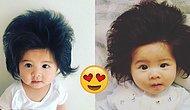 6 Aylık Olmasına Rağmen Harika Saçlarıyla Hepimizi Kıskançlıktan Çatlatan Chanco Bebek