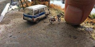 Tayvanlı Sanatçı Yaptığı İnanılmaz Detaylarla Dolu Minyatür Modellerle Dünyayı Avcunun İçine Sığdırıyor!
