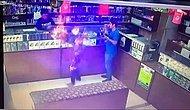Yerli Ghost Rider; Gaz Kaçağı Olan Dükkanda Sigara Yakmak