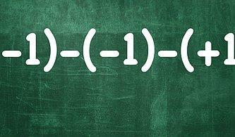 Hızlı Olan Kitabı Kazanır! Bu Testte Matematik IQ'su 120 Olanlar Full Yapıyor!