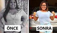 Kilo Vermeyi Kafasına Koyup Sağlıklı Bir Hayata Kavuşan Süper Azimli Kadın
