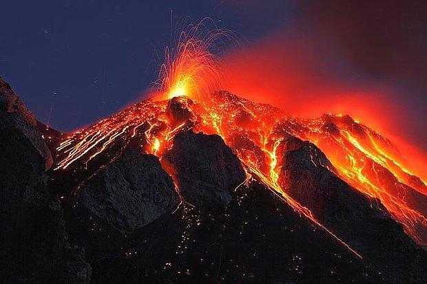 Yanardağ patlaması