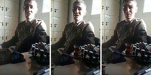 Askere Elverişsiz Raporu Verildiği İçin Hüngür Hüngür Ağlayan Adam