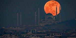 Göğe Bakalım! Yüzyılın En Uzun Kanlı Ay Tutulmasına Saatler Kaldı