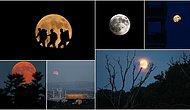 Yüzyılın En Uzunu! İşte Kanlı Ay'dan Objektiflere Yansıyan Kareler
