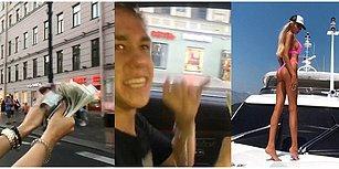 Lüks Arabaların Camından Sokağa Tomarla Para Atarken Video Çeken Rusya'nın Zengin Çocukları