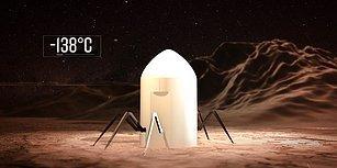 NASA, Mars'ta Yapılacak Konutlar İçin Düzenlediği Yarışmanın Finalistlerini Seçti!