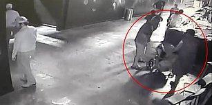 Akvaryumdan Köpek Balığı Çalıp Bebek Arabasıyla Kaçıran Hırsızlar