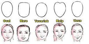 Yüz Tipini Belirle Sana Hangi Saç Modelinin Yakışacağını Söyleyelim!