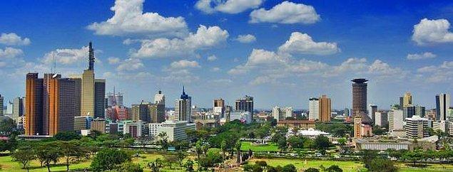 7. Nairobi / Kenya: 577,7 saat