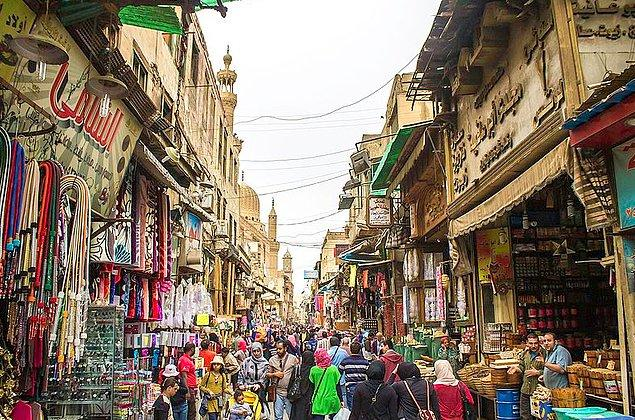 1. Kahire / Mısır: 1066,2 saat