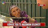 Ankara'da Dilencilik Yapan Kadının Dudak Uçuklatan Kazancı: 'Ramazan Olsa 700 Lira Kazanırdım'