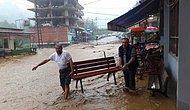 Şiddetli Yağış, Taşkın ve Heyelan: Objektiflere Yansıyan Çarpıcı Görüntüler ile Rize'de Sel Faciası