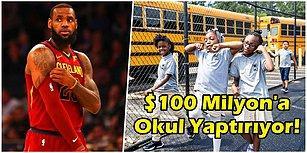 Ücretsiz Yemek, Bisiklet ve Üniversite Eğitimi! LeBron James 100 Milyon Dolara Okul Yaptırdı!