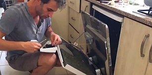 Servis Tarafından Bulaşık Makinesine Beyni Yandı Tanısı Konulunca Kendi Tamirini Kendi Yapan Adam