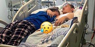 Kalbimiz Paramparça! Yaşam Destek Ünitesi Kapatılmadan Önce Sevgilisine Son Kez Sarılan 15 Yaşındaki Genç