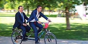 Hem Sağlıklı, Hem Ekonomik: Görme Engelli Başkanın 'Makam Aracı' Bisiklet