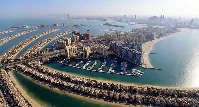 2. Birleşik Arap Emirlikleri kaç emirlikten oluşmaktadır.
