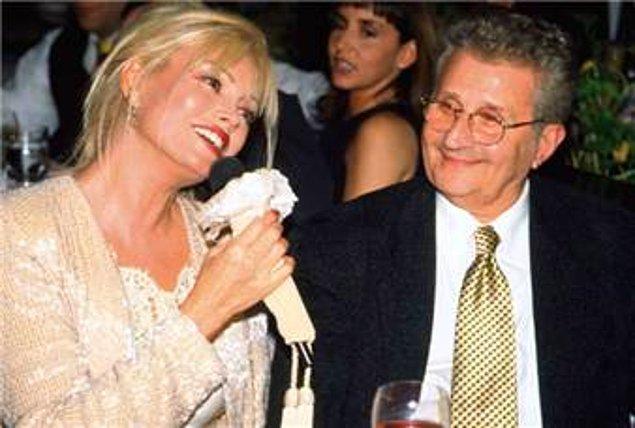 6. Dönemin milletvekili Yıldırım Aktuna ile Süperstar Ajda'nın aşk yaşamaya başlaması