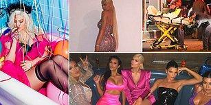Ünlü Yıldız Kylie Jenner 21. Doğum Gününü de Öncekiler Gibi Olaylı Bir Şekilde Kutladı