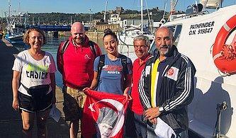 15 Saatte Manş Denizi'ni Geçti:  Bengisu Avcı'nın Yeni Hedefi 'Oceans 7 Tamamlayan İlk Türk Kadını Olmak'