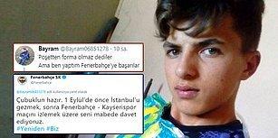 Poşetten Forma Yapan Genç Fenerbahçe Taraftarına Büyük Jest