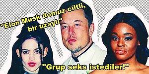 Irkçılık, Grup Seks ve Mutantlar... Bu Olay Büyür! Azealia Banks, Elon Musk ve Grimes'ı Fena İfşa Etti!