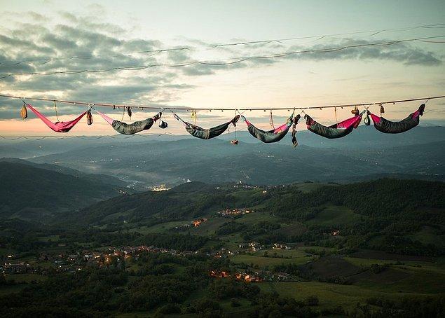8. Hamak kampı, İtalya