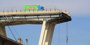 Morandi Köprüsü Faciasından Kıl Payı Kurtulan Kamyon Şoförü: 'Arkadaki Araç Sollayınca Yavaşlamıştım'