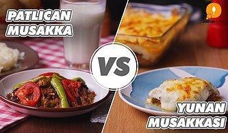 Türk Mutfağı ve Yunan Mutfağı Kapışması: Patlıcan Musakka vs Yunan Musakkası