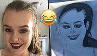 Tıpkısının Aynısı: Arkadaşının Kendisine Hediye Ettiği Çizimle Bütün İnternet Dünyasını Sallayan Kadın