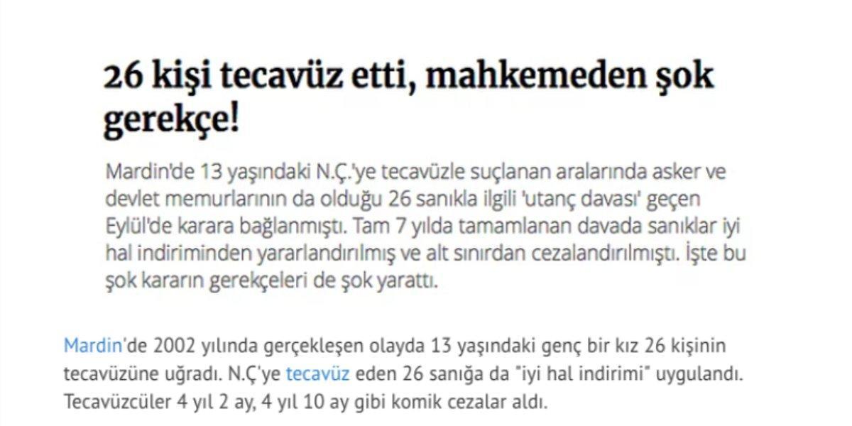 turkiye de adalet sistemine inancimizi