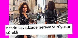 Kendine Has Tarzıyla Gizemli Yürüyüş Videoları Çeken Nesrin Cavadzade, Sosyal Medyanın Diline Düştü!