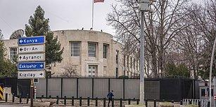 ABD Büyükelçiliği'ne Silahlı Saldırı: Seyir Halindeki Araçtan Ateş Açıldı