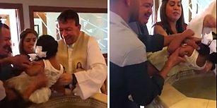 Kendisini Vaftiz Eden Papaza Küfür Eden Çocuk