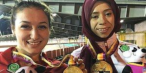 2 Rekor 2 Altın Madalya: Zübeyde Süpürgeci ve Hamide Kurt Para Atletizm Avrupa Şampiyonası'ndan Birincilikle Döndü
