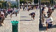 İzmir'de Kirlenen Sokakları Büyük Bir Alçak Gönüllülükle Temizleyen Japonlar