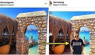 Photoshop Yaparak O Tatil Senin Bu Tatil Benim Gezen Genç Kızın Herkesi Güldürürken Düşündüren Instagram Hesabı
