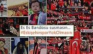Yok Olmanın Eşiğindeki Eskişehirspor'a Sosyal Medyadan Tam Destek