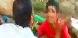 Sosyal Medyayı Ayağa Kaldıran Görüntüler: Fıstık Çaldığı Öne Sürülen Çocuğu Hortumla Islatıp Dövdü