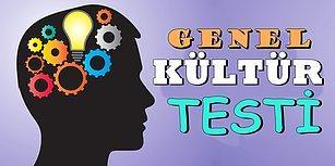 Bu Genel Kültür Testinin Son Sorusunu Her 10 Kişiden 7'si Kopya Çekmeden Göremeyecek!
