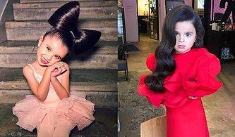 Muazzam Saçlarıyla Sosyal Medya Kullanıcılarını Büyüleyen 5 Yaşındaki Güzellik Mia!