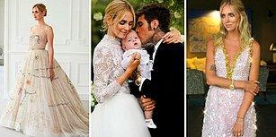 Instagram Böyle Düğün Görmedi: Ünlü Moda Blogger'ı Chiara Ferragni ve Şarkıcı Fedez Evlendi
