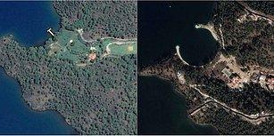 Ağaçlar Kesildi, Plaj Dolduruldu: Yazlık Sarayın Yapıldığı Okluk Koyu'nun Önceki ve Sonraki Hali