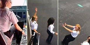 Kiki Challenge Akımını Yeni Bir Boyuta Taşıyan Pilot Kadınlar