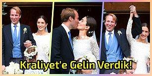 Kraliyete Gelin Verdik! Bavyera Prensi Türk Kızı Deniz Kaya İle Dünya Evine Girdi