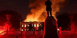 20 Milyondan Fazla Parça Korunuyordu... Yangına Teslim Olan Brezilya Ulusal Müzesi'nde Hangi Eserler Vardı?