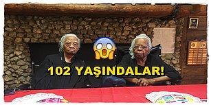 Yaş Sadece Sayıdan İbaret! 102 Yaşındaki Bu İkizleri Görünce Bir Yaşınıza Daha Gireceksiniz!