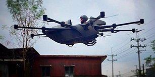 Filipinli Genç Mühendis, Drone Teknolojisini Kullanarak Tek Kişilik Uçan Araba Üretti